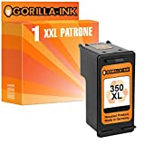 Gorilla-Ink - Cartucce per stampante compatibili con HP-350 & HP-351XL, nero e a colori (01) 1 Patrone Black