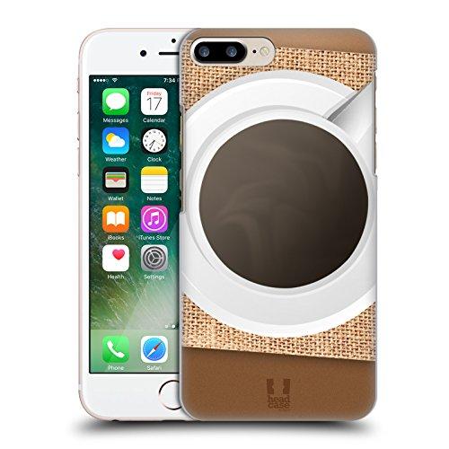 Head Case Designs Abey Maschere Di Gesso Dei Nativi Americani Cover Retro Rigida per Apple iPhone 7 Plus / 8 Plus Caffe Sul Tavolo