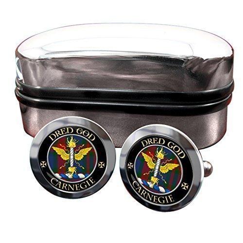 carnegie-scottish-clan-crest-mens-cufflinks-with-chrome-gift-box