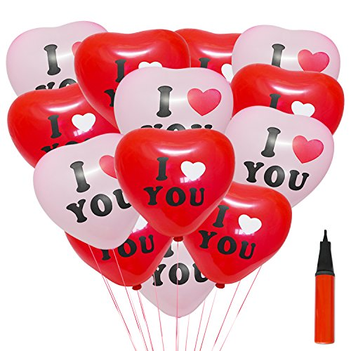 200 Luftballon Herzförmigen 12
