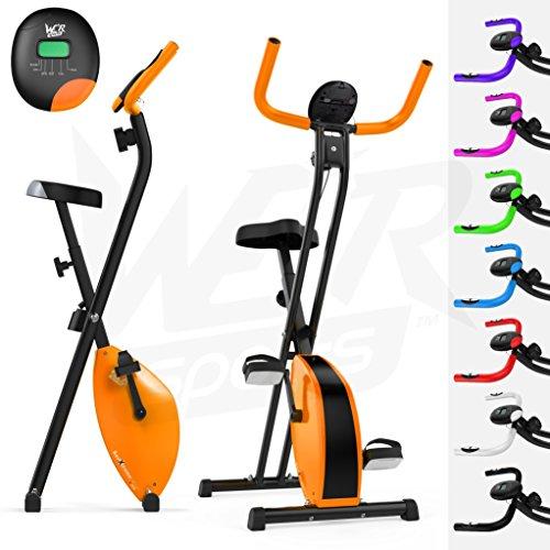 We R Sports X-Bike Vélo d'appartement pliable Violet