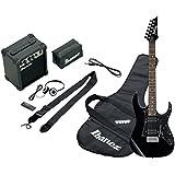 Ibanez IJRG200-BL Jumpstart Kit Guitare électrique avec Amplificateur/Casque Noir