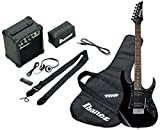 Ibanez IJRG200-BL Jumpstart Set Electric Guitar (Amp, Gig Bag, Strap, Cable, Plectrums, Accessory Case) Black