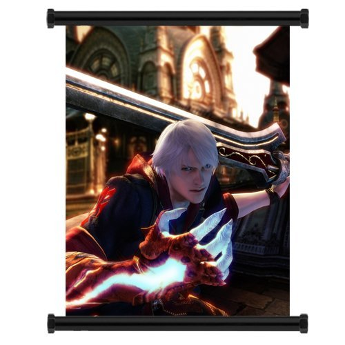 Laohujia Devil May Cry Anime Fabric Wall Scroll Poster (16x20) Inches. [WP]-Devil May Cry- 6 Wp Wall