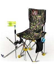Camping Angeln Arm Stuhl, Sommer Outdoor Folding Portable Leichte Möbel Entspannungsstuhl