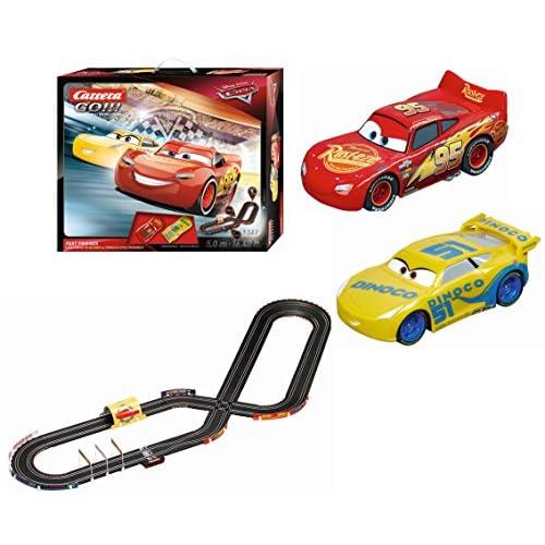 Carrera GO!!! - Disney Pixar: Cars. Fast Friends Circuito de Coches, Psta de 5.0 m (20062419) 4
