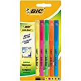 BIC Highlighter Surligneurs - Couleurs Fluo Assorties, Blister de 5