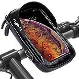 TURATA Fahrrad Lenkertasche Wasserdicht Rahmentaschen Multifunktional Motorrad Handyhalterung für...