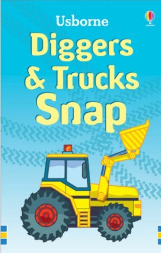 Trucks and Diggers Snap (Usborne Snap Cards) by Tudoe, Andy (September 28, 2007) Cards