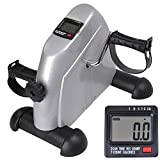 ReaseJoy Arm and Leg Pedal Exerciser Bike with LCD Display Indoor Portable Resistance