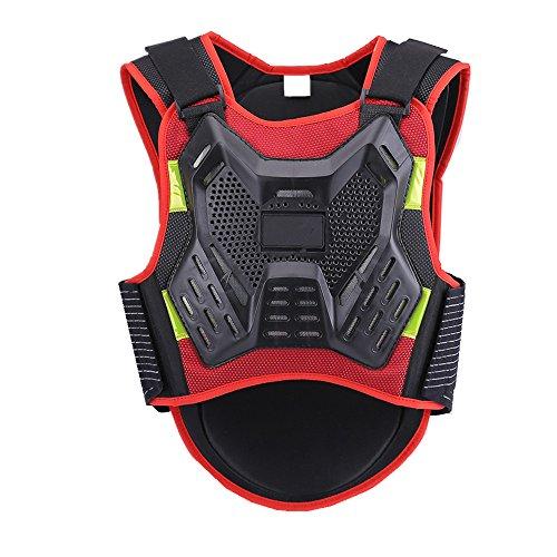 Flyci Motorrad-Ganzkörperrüstung Dirt Bike Körper Brust Spine Protector Rüstung Weste Schutzausrüstung für Dirtbike Bike Motorrad Motocross Ski Snowboard Rückenschutz (Größe : S)
