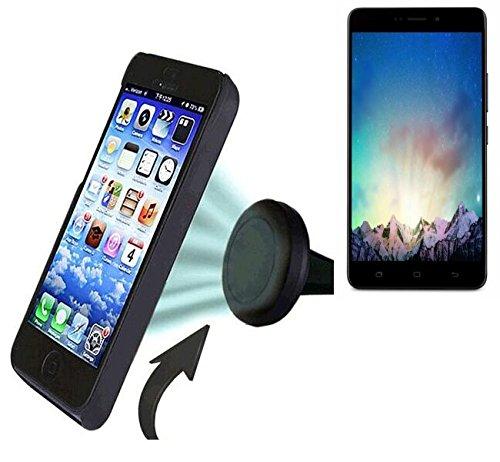 Preisvergleich Produktbild Auto Handy Halterung für Medion Life X5520 KFZ Halter Lüftungsgitterhalterung Air Vent mount Smartphone Halter