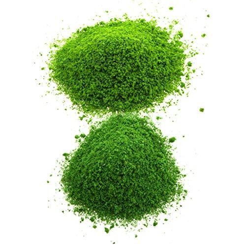 Sharplace Mini Modell Bäume Gras Laub Blätter Zug Eisenbahnen Architektur Landschaft Layout - #B -
