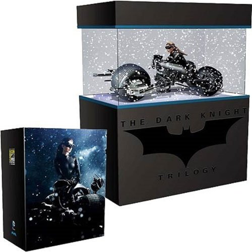 Batman Dark Knight Rises SDCC 2014 Exclusive Bat-Pod with Catwoman Model Kit