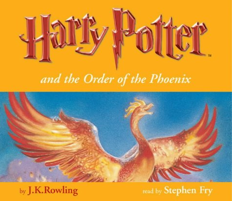 Click for larger image of Harry Potter and the Order of the Phoenix (Book 5 - Unabridged 24 Audio CD Set - Childrens Edition): Child Edition