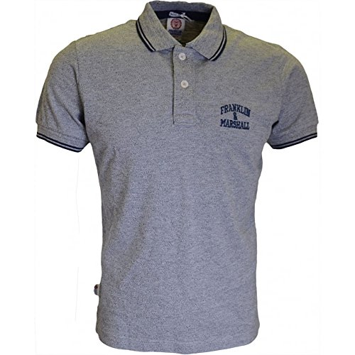 Franklin & Marshall -  Polo  - Uomo - Sport Grey Mel L