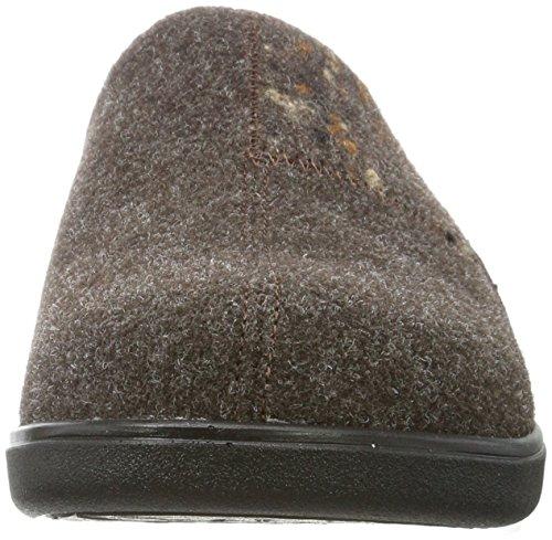 Romika Gomera H 01, Pantofole Uomo Marrone (Braun-kombi 301 301)