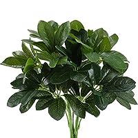 Des arbustes verts comblent un espace impossible à cultiver, ce qui complète bien la composition florale et le style rural riche Le produit est fabriqué de manière rigoureuse, on aura pas la main verte, bien pour remplir l'espace des parterres de fle...