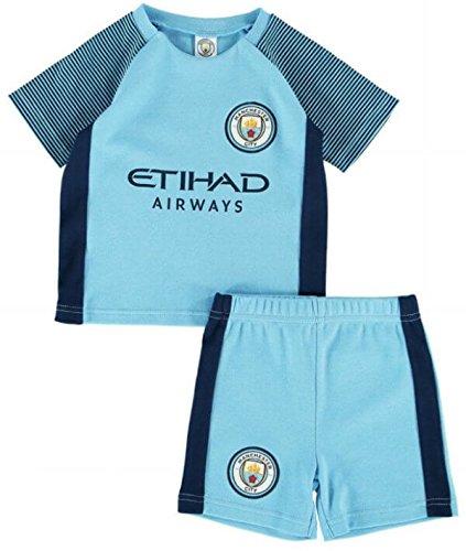 Manchester City Baby T-shirt & Shorts Set 2016-17