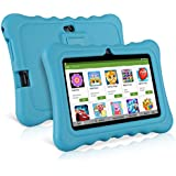 Ainol Q88 Kids Tablet PC,7 Inch Android 7.1 Display 1G RAM 8 GB ROM Tablet Dual 0.3MP Camera Kid-Proof Silicone Case Kickstand Available With IWawa For Kids Education Entertainment - Blue