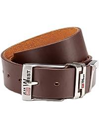 PU ceinture en cuir Jeans Ceinture de 3,8cm de large, Haute Qualité Traitement