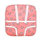 Rosennie Rucksack Tasche Kinder Schöne Umhängetasche Spielzeug Multifunktions Herz Print Puppe Kleidung Süße Doppelgurte Rucksack Schultasche für Kinder Backpack Bag (Rosa)