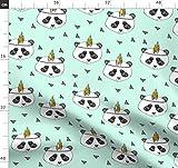 Panda, Pandas, Federn, Tipi, Bär, Stoffe - Individuell