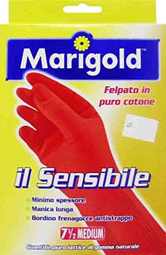 guanti marigold 12 x MARIGOLD Guanti Lattice Il Sensibile Taglia M In Scatola 2 PEZZI