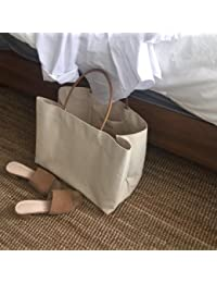 GUMO-Bolsas de playa, de gran capacidad, bolsos, bolsas de hombro única, bolsas de tela, blanco