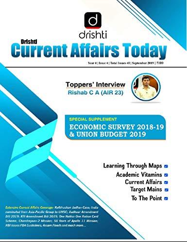 Drishti Current Affairs Today (English) - September 2019