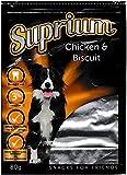 Suprium Chicken & Biscuit Premium Hundesnack Leckerli Huhn Natürlich Low Fat, 12er Pack (12 x 80 g)