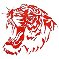 Tiger Head Pattern Tribal Graphic Decal Auto Car Window Decorative Stickers lyhhai