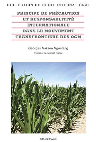 Principe de précaution et la responsabilité internationale dans le mouvement transfrontière ...