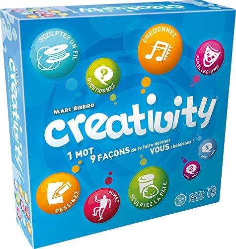 Asmodee- Creativity, MRCR01FR, Jeu d'ambiance