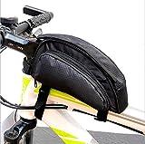 Bolsa de Bicicleta, FTUNG Bolsa para Bicicleta de Cremallera Bolso de Maletas para Tapa de Tubo de Bicicleta