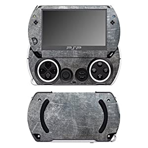 Disagu SF-14232_1042 Design Folie für Sony PSP Go – Motiv Metallstruktur transparent