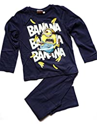 Minions Despicable Me Chicos Pijama 2016 Collection - Azul marino