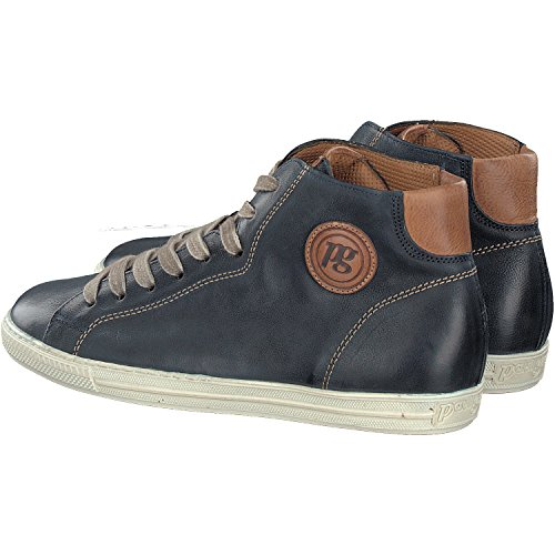 Paul Green High top Trainer - 1167 Navy