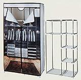 Importacion ausfuhrgeschäfte Kleiderschrank Desm. 160x 88x 45Deco.