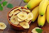 2 kg Bananenchips - gesüßt getrocknet Banane Bananenscheiben