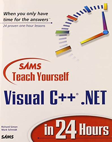 Sams Teach Yourself Visual C++.NET in 24 Hours