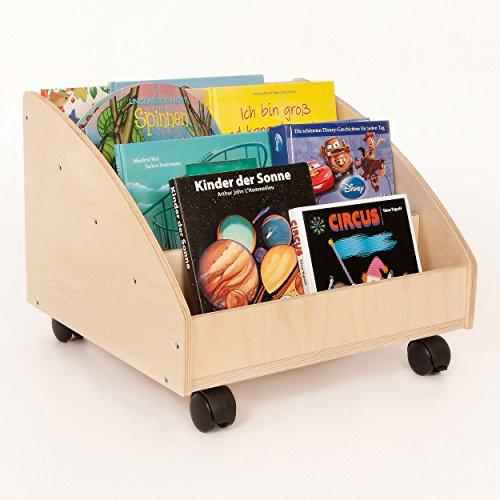 FLIXI Bücherkiste aus Birkenholz