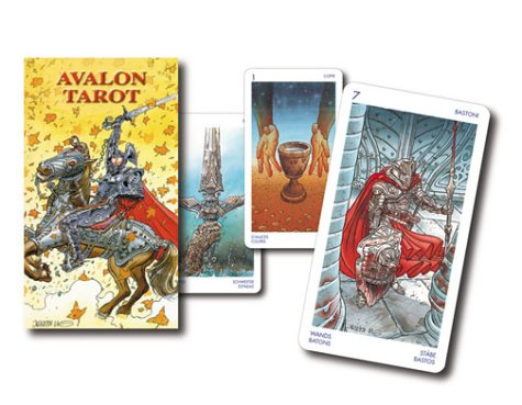 Avalon Tarot: 78 Cards with Instructions (Lo Scarabeo Decks)