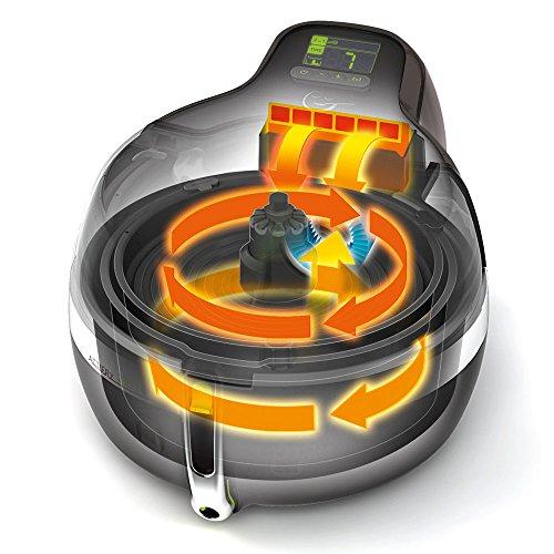 Tefal ActiFry YV9601 2in1 Heißluft-Fritteuse (1,5 kg Fassungsvermögen, 1.400 Watt, inkl. Rezeptbuch) - 6
