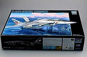 Trumpeter 3203 F-14D Super Tomcat - Caza a escala importado de Alemania