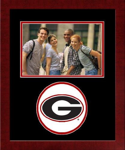 CAMPUS TELECOM NCAA Georgia Bulldogs University Spirit Bilderrahmen, horizontal