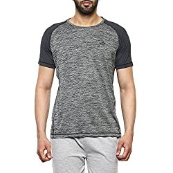 Proline Mens Solid Regular Fit Active Base Layer Shirt (PA025_Desd_X-Large)