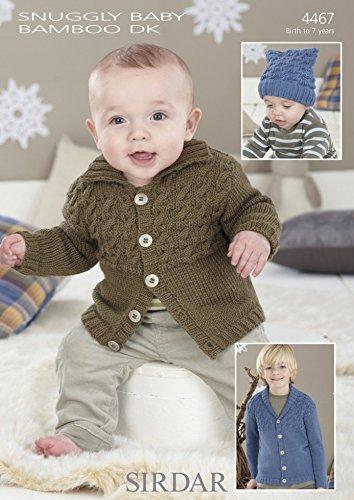 Sirdar Baby Strickjacken Muster 4467DK -