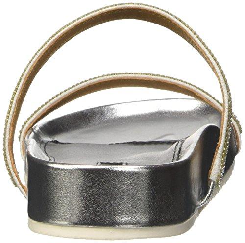 Belmondo - 703445, Ciabatte Donna Argento (Silber (argento))