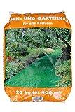 20kg granulierter gekörnter Rasenkalk Gartenkalk Kalk gegen Moos im Rasen Herbs